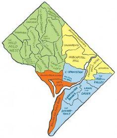 dc neighborhoods, redefined
