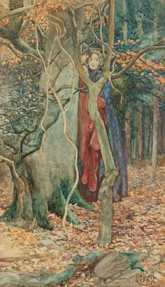 """The Secret""  -  Eleanor Fortescue-Brickdale"