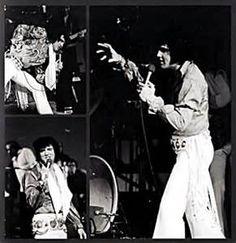 Elvis Las Vegas Hilton August 1972 a Series of 3 Photos.