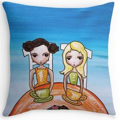 Studio Door cushions. Quirky and unique. Let colour psychology take control of you and befriend the emotions. Break Time.
