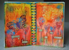 StampingMathilda: Art Journal #2 - Your Living Canvas