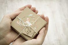 mini album with little horse