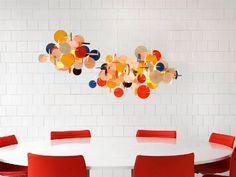 Geometric Lighting Fixtures: Bau Pendant by Normann | Captivatist