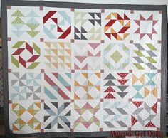 Layer Cake Sampler Week 11 {quilt layout and piecing instructions}