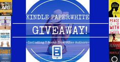 Kindle Paperwhite Giveaway + Bonus: 10 Books from Various Authors. https://www.jmring.com/giveaways/kindle-paperwhite-giveaway/?lucky=350