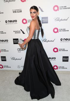 Jessica Lowndes at Elton John Aids Foundation's Oscar Viewing Party Jessica Lowndes, Elton John Aids Foundation, Viva Glam, Chopard, Actresses, Formal Dresses, Celebrities, Fashion, Female Actresses