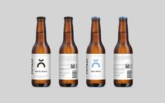 Hõlu craft beer visual identity and package design on Behance