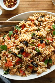 Pasta With Marinated Tomatoes and Summer Herbs Recipe - NYT Cooking