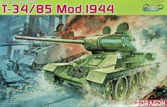 Model Dragon 6319 tank T-34/85 Mod. 1944