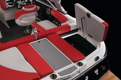 New 2012 Mastercraft Boats X2 Ski and Wakeboard Boat - Great look at storage space.
