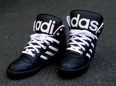 adidas jeremy scott instinct black