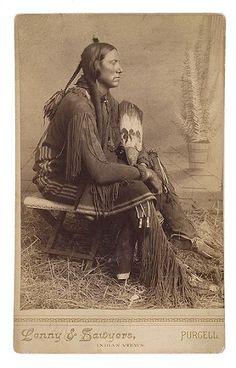 Quanah (aka Fragrance, aka Quanah Parker) - Comanche/Scots-Irish - 1880