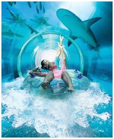 Underwater water park, Dubai