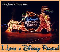 I sure love a Disney World Parade!
