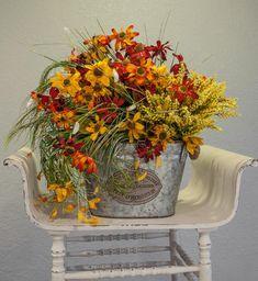 Silk Arrangements, Artificial Flower Arrangements, Beautiful Flower Arrangements, Artificial Flowers, Beautiful Flowers, Grave Flowers, Cemetery Flowers, Flower Planters, Flowers Garden