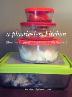 Is your kitchen filled with plastic products?  After learning more about plastic, one blogger upgraded to healthier options. It took some time, but here's how she did it: