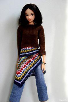 momoko Love the crochet!!