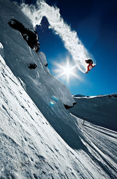Snowboarding...so high!