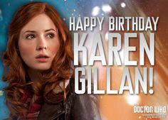 Girl Birthday, Happy Birthday, Arthur Darvill, Doctor Who Companions, Alex Kingston, Bbc Doctor Who, Rory Williams, Karen Gillan, Amy Pond