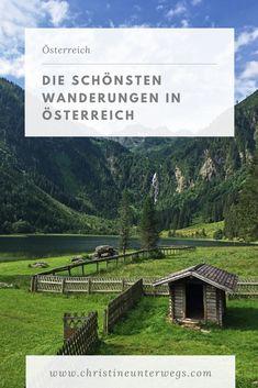 Das Wandern hat sich in den letzten Jahren zu einer meiner Leidenschaften entwickelt. Zum Glück bietet Österreich hier so viele Möglichkeiten, hier findest du meine Tipps. Reisen In Europa, Travel Tips, To Go, Messages, Adventure, World, City, Nature, Roadtrip