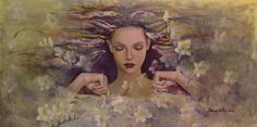 dorina costras art   ... Dorina Costras - The Voice Of The Thoughts Fine Art Prints and Posters
