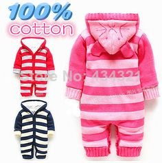 infant rompers brand baby boy/girl jumpsuit pajamas bebe winter fleece overall newborn 100% Cotton Ha garment kids outfits sets US $32.69