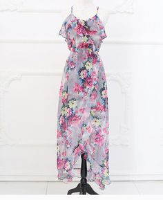 Maxi Dress In Floral Print on Luulla