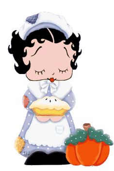 Dreamontoyz Betty Boop   Betty Boop Thanksgiving greetings and pictures