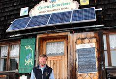 Hüttenwirt und Klimaschützer