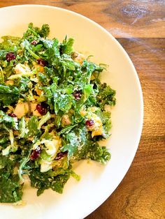 Kale & Brussels Sprout Salad | Recipe | Brussels Sprouts, Brussels and ...