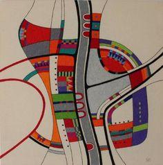 """Saatchi Art Artist Victoria Potrovitza; Drawing, """"Complicated exit"""" #art"""