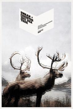 :: Mark Brooks - Swaan + Christos USA Tour Promo Posters ::