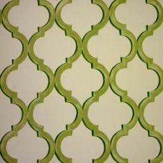 Avebury Lime 100% cotton 137cm 64cm Curtaining