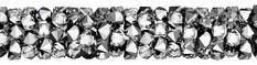 SWAROVSKI® 5951 Fine Rocks Tube (001 LTCH Crystal Light Chrome) Swarovski, Innovation, Tube, Rocks, Chrome, Spring Summer, Steel, Crystals, Abstract