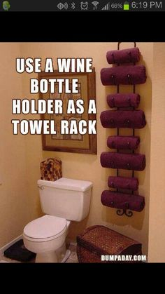 Great idea. I'd put it right on the back of my bathroom door. Then I'd just have to get matching towels lol