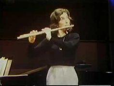 Paula Robison, flute - Carmen Fantasie Rehearsal. Such flair!