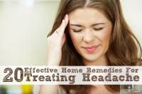 20 Effective Home Remedies For Treating Headaches