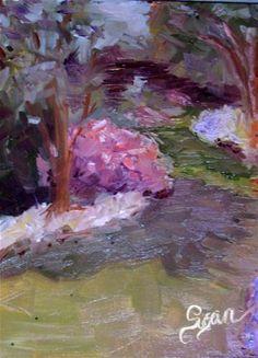 """""""Among the Azaleas"""" - Original Fine Art for Sale - © Susan E Jones"""