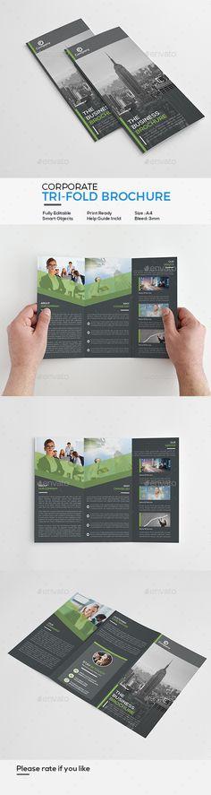 Corporate Tri-Fold Brochure - Corporate Brochures Download here : https://graphicriver.net/item/corporate-trifold-brochure/19652520?s_rank=89&ref=Al-fatih