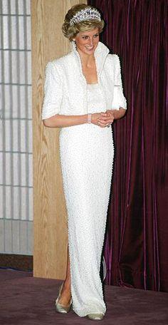 8da3ea5d99e0 In Catherine Walker, 1989 Princess Diana Dresses, Princess Diana Death,  Princess Diana Fashion