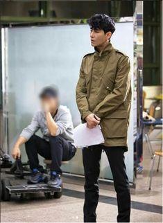 #차승원#Cha Seung Won#チャスンウォン #車勝元 Cha Seung Won, Korean Actors, Military Jacket, Jackets, Fashion, Down Jackets, Moda, Field Jacket, Fashion Styles
