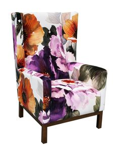 Jimmy Possum Willi armchair in gardenia grape #loungeroom #autumnwinter13