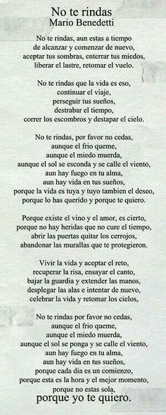 Yo te quiero...