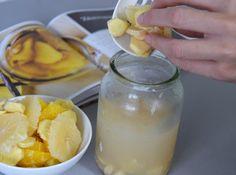 diy recipe ginger liqueur anti flu / recept na domácí zázvorový likér proti chřipce na blogu http://tamarki.cz/tip-na-diy-darek-zazvorovy-liker-proti-chripce-z-knihy-delame-si-to-doma-sami/