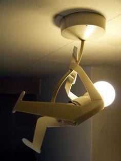 45 Lámparas un poco extrañas y con diseños inusuales. ~ 8 OCHOA DESIGN STUDIO BLOG