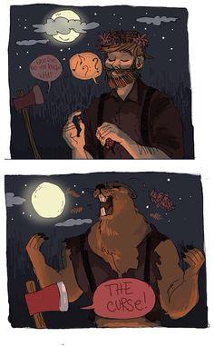 Lumberjack with a dark secret