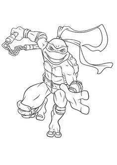 Craftoholic: Teenage Mutant Ninja Turtles Coloring Pages and a blog ...