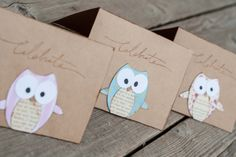 Owl Baby Shower Card for sale on Etsy -  https://www.etsy.com/listing/125155257/owl-baby-shower-greeting-card-celebrate?