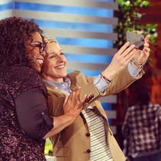That was so much fun. You really know your way around a talk show RT @Oprah: Truly had good fun with ellen!! #HeadsUp
