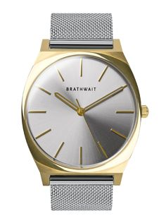 The Swiss Classic Front Gold Steel